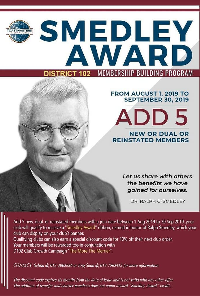 Smedley award_D102