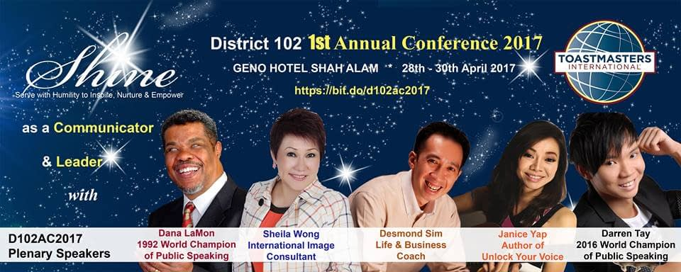 D102 Annual Conference 2017 Program
