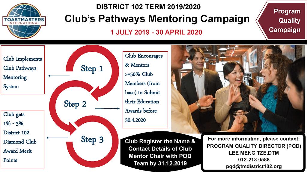 PQD Campaign 5 Club Mentoring