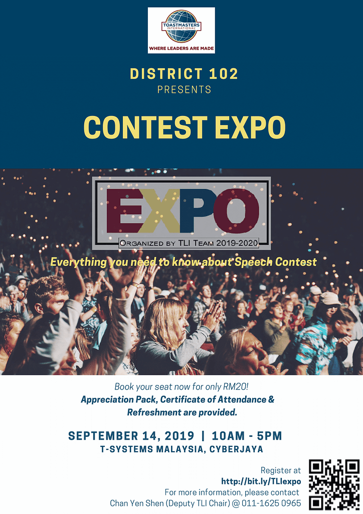 District 102 Contest Expo 2019/2020