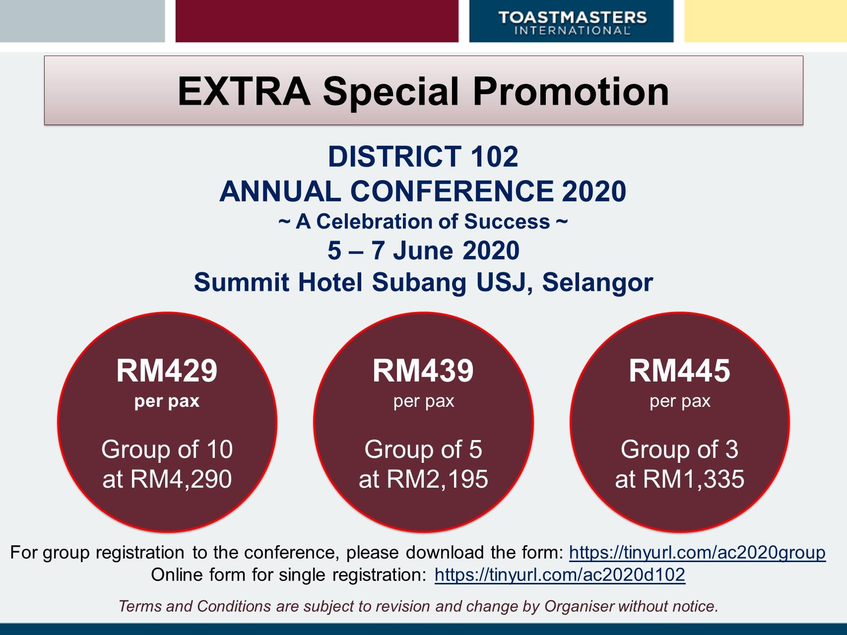 Annual conference promo