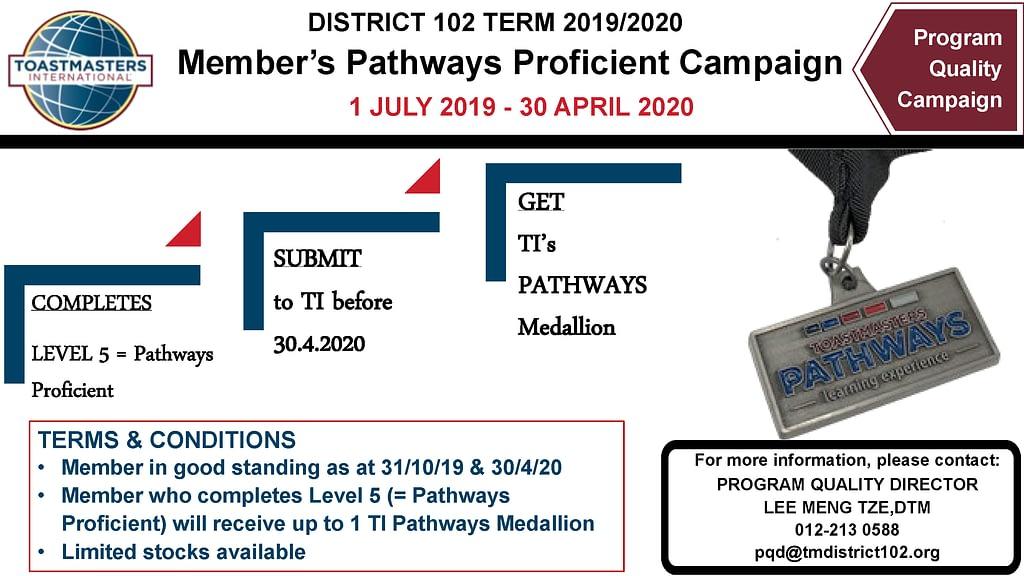 PQD Campaign 8 Pathways Proficient Campaign