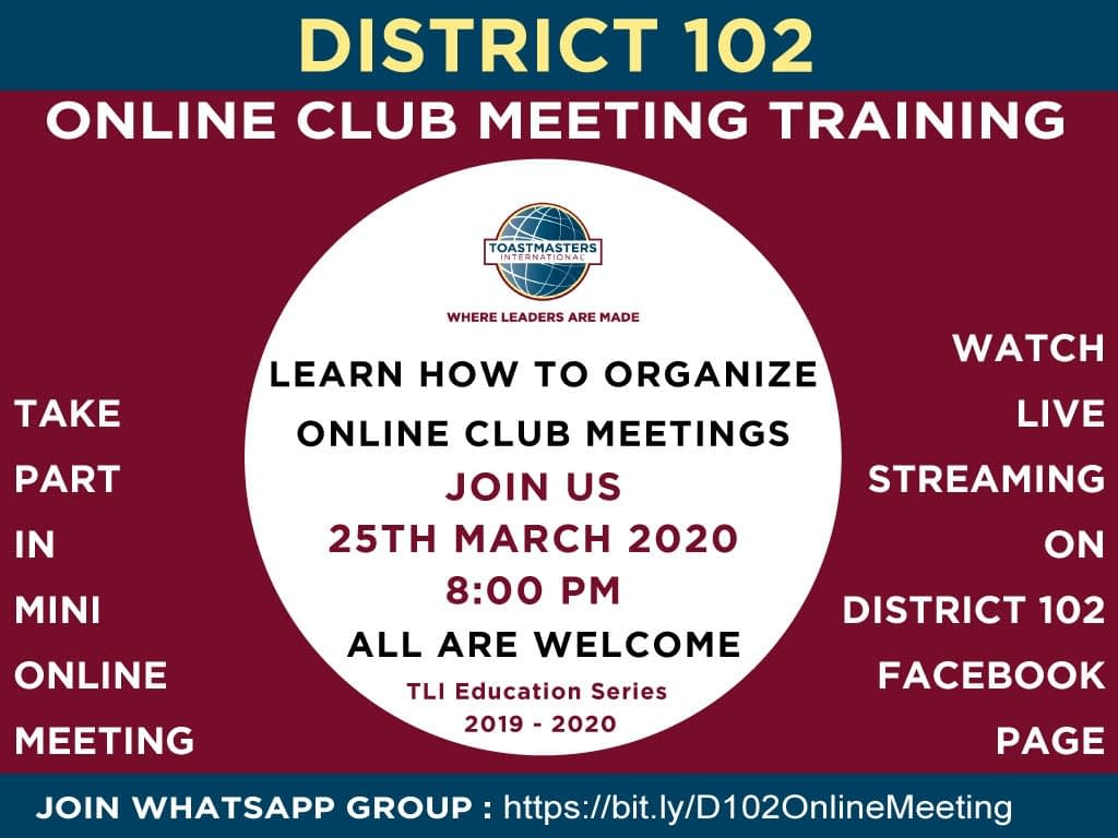 online meeting training