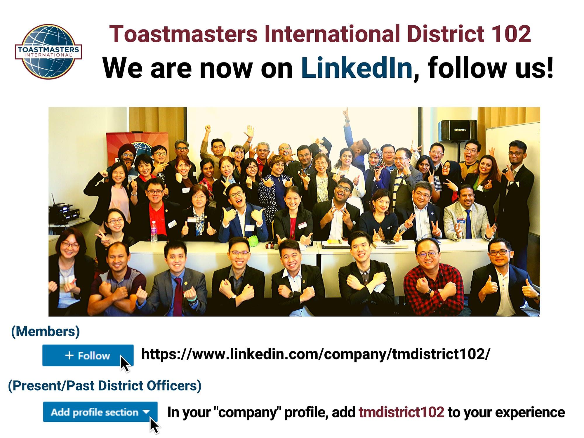 Linkedin District 102