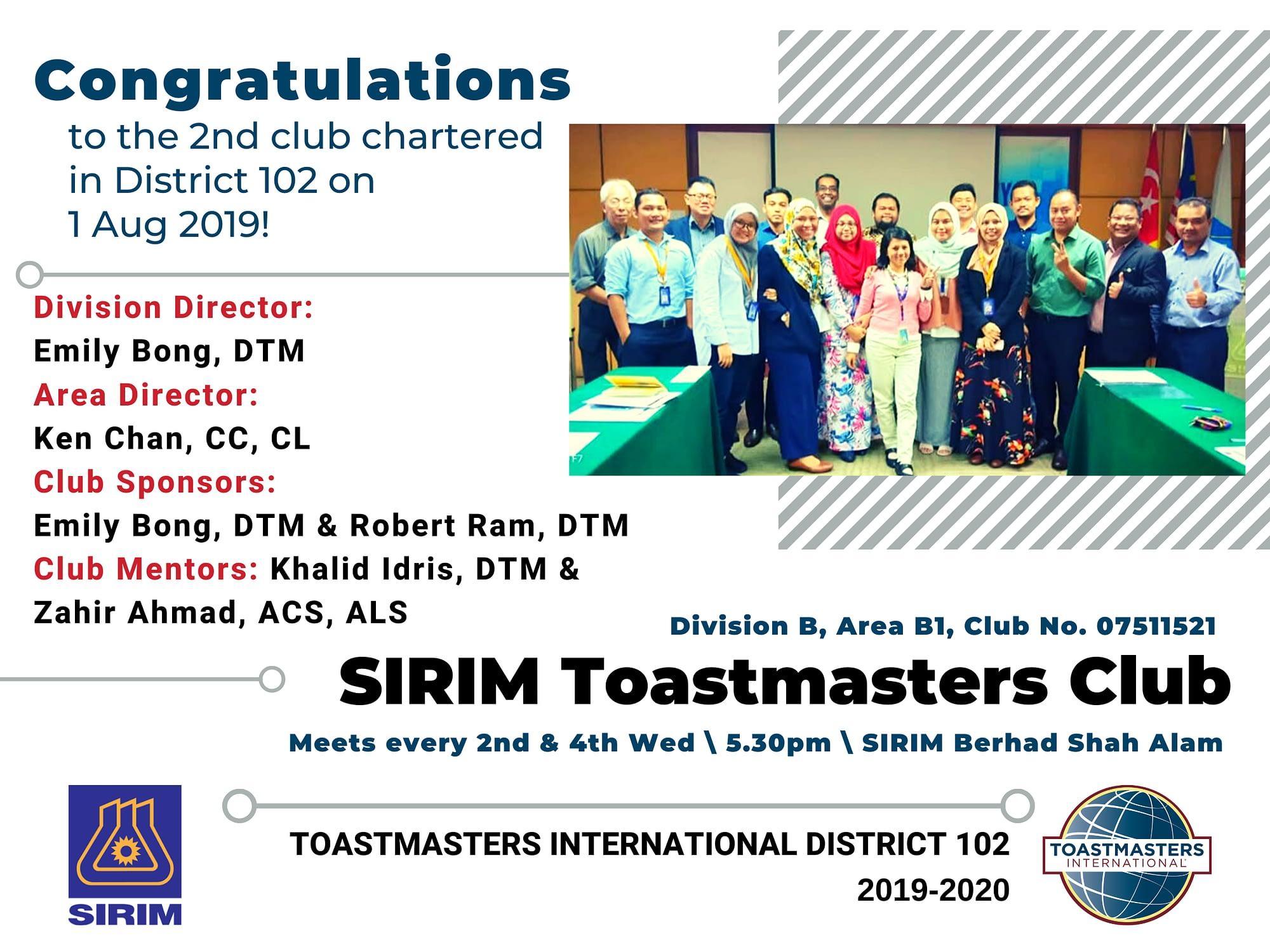 SIRIM-toastmasters-club