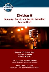 Toastmasters Malaysia District 102 HSSE_2018_DivH